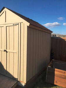 6 Foot x 9 Foot shed