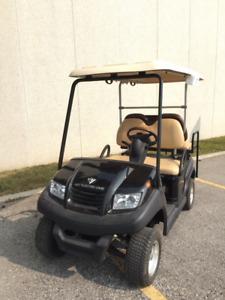 VOITURETTE DE GOLF 2014 Zephyr 2+2 GOLF CART DEMO NEW