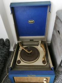 Vintage Dansette Major de Luxe Record Player