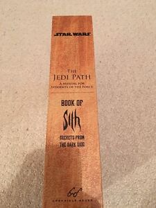 The Jedi Path and The Book of Sith Combo - Brand New