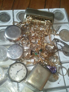 WANTED GOLD JEWELLERY AND SILVER COINS  I PAY CASH$