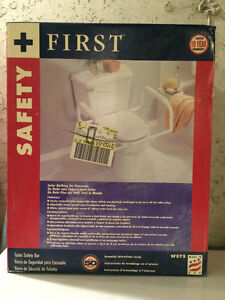 Brand new toilet safety bar by Safety First