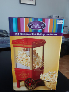 Popcorn Maker-Old Fashioned Hot Air - $30