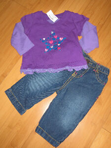 Girls Fall/Winter Outfits - 6 Mths London Ontario image 3