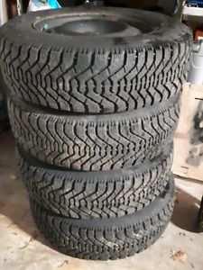 215/65R16 winter tires and rims