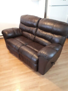 Causeuse 2 places inclinable / Loveseat Recliner