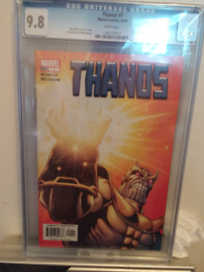 Thanos #1 CGC 9.8 Comic Movie Comming Only Going Up!