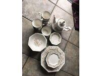 Eternal Beau Dinner and Tea Set