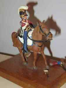 Metal Miniature British Soldier on Horseback Peterborough Peterborough Area image 2