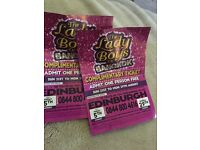 2 tickets for the ladyboys