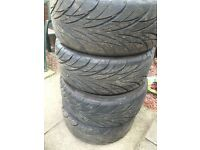 BCT S800 225/40/18 Directional Tyres X4