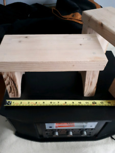 Handmade small benches!