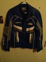 Fox racing blue men's coat
