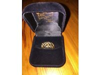 9ct gold men ring