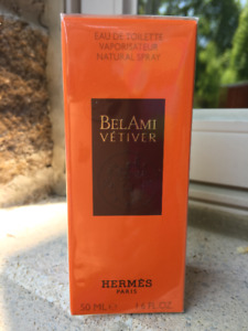 NEW HERMES Bel Ami VETIVER 50 ml Eau de Toilette EDT Sealed