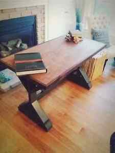 Pottery Barn style Rustic office / computer desk / table