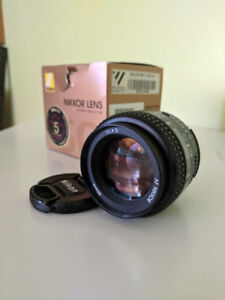 NIkkor 50mm F1.4 lens perfect condition