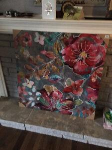Brand New **Floral Canvas Art Print** London Ontario image 2