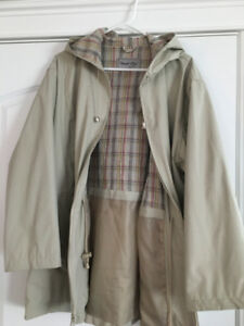 Women's Lined Raincoat