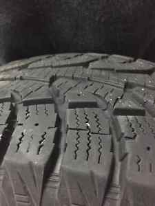 4 Hankook Winter Tires Used 1 Season Price negotiable West Island Greater Montréal image 5
