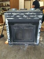 Wood fireplace for sale