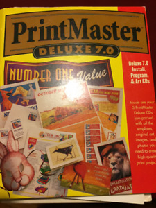 Click Art Cds and BOOK &Printmaster CD's &Book