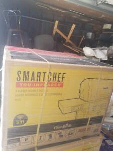BBQ CHAR BROIL SMARTCHEF A VENDRE NOUVEAU / TO SELL BRANDNEW