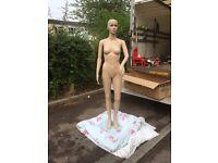 Female mannequin full size