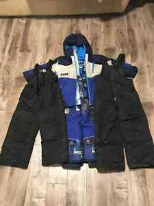 Snow Suit & 2 extra pair of snow pants size 4