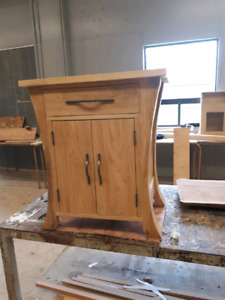 Handcrafted Maple Cabinet