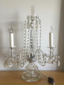 Crystal Vintage Table Lamp