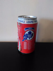 Toronto maple leafs 1993 Norris division champs. Coca cola can