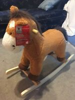 brand new rocking horse and with sounds