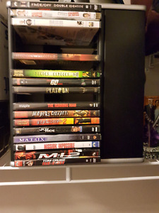 Dvds and DVD Caddy