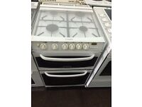 White cannon 55cm gas cooker grill & oven good condition with guarantee
