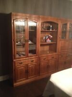 Display cabinets / Wall units for sale