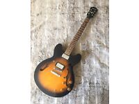 Epiphone Dot '05 with scratch plate