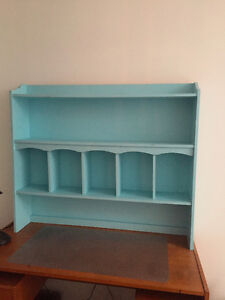 Blue Painted Hutch
