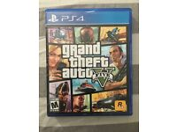 PS4 gta v mint condition disk
