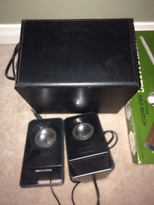 LogiTech Speakers and Sub woofer external speakers
