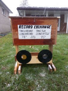 Record exchange, donations wanted