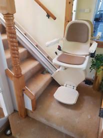 Stairlift 13 feet straight chairlift