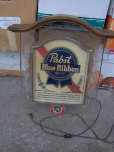 Pabst Blue Ribbon Light Up Beer Sign