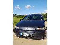 Fiat punto 2002, 5 door, 9 months MOT !! Very reliable car :) Ł850 ono