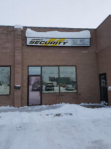 Office with Bay for lease in North Lethbridge Industrial area