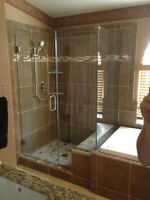 ***shower doors *** 8mm barn doors from 800$ installed