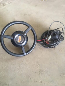 outback electric autosteer wheel
