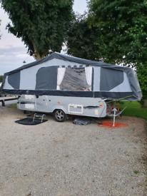 Folding camper Pennine crusader