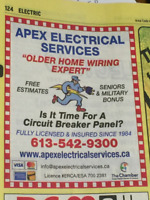 Replace your fuse box to breakers! Payments ok! 0% interest