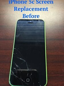 *****iPhone screen replacement*****iPhone repair*** NEW PRICES* Cambridge Kitchener Area image 1